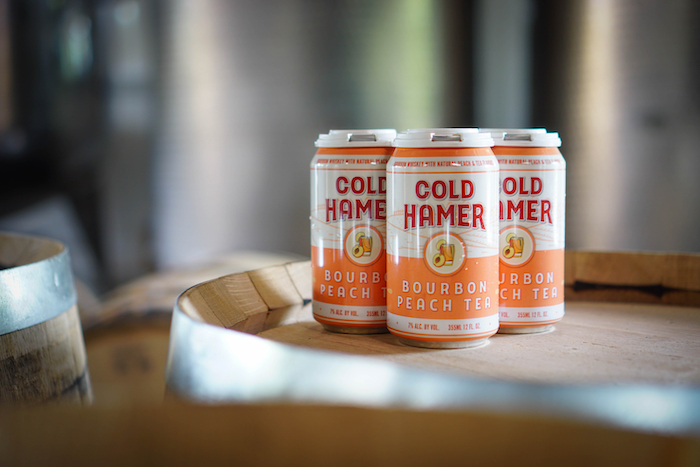 Cold Hamer Bourbon Peach Tea