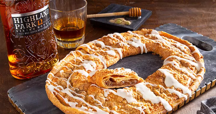 O&H Danish Bakery Whiskey Kringle
