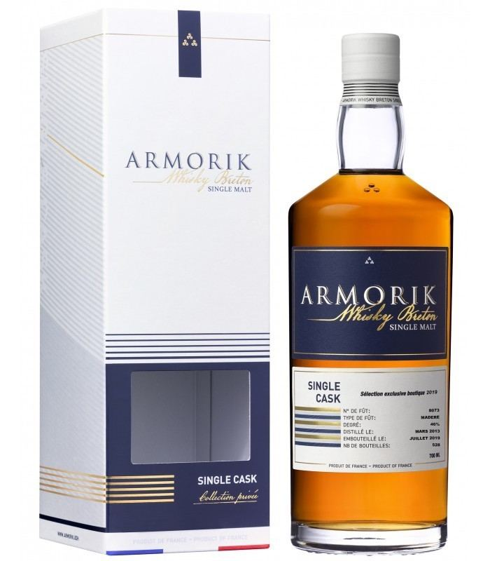 Armorik Single Cask Madere (image via Distillerie Warenghem)
