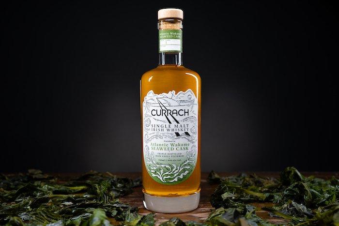 Currach Single Malt Irish Whiskey - Atlantic Wakame Seaweed Cask.