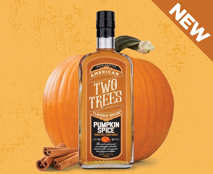 Two Trees Pumpkin Spice Flavored Whiskey