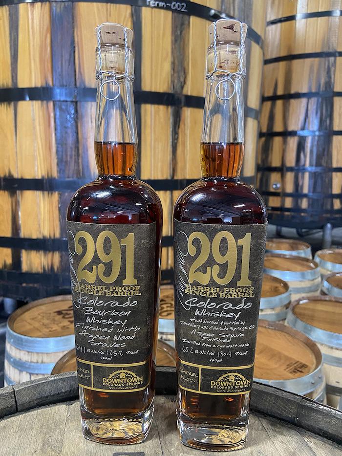 291 Distillery Colorado Springs bottlings
