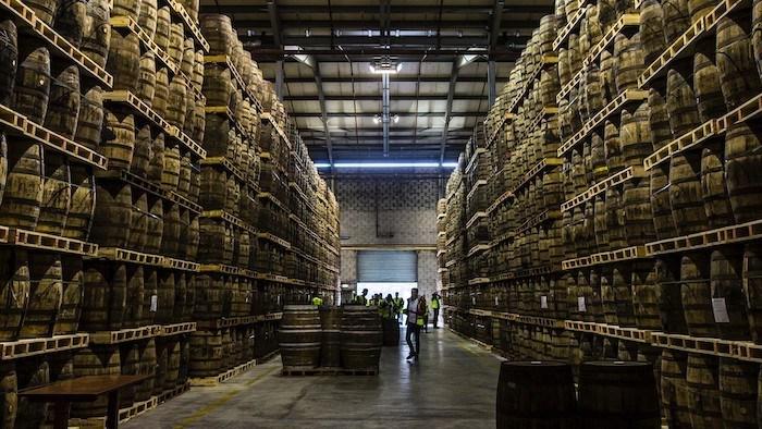 Irish distillers warehouse