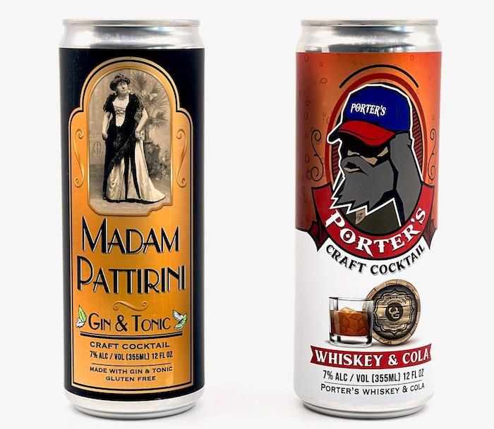 Porter's Whiskey Cola