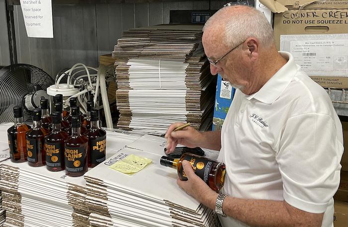 Master Distiller Jim Rutledge