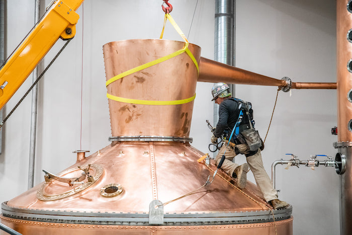 Sugarlands Distilling Company New Pot Still Stands Among Largest In U.S.