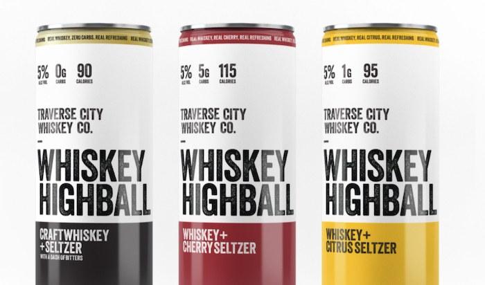 Traverse City Whiskey Whiskey Highballs