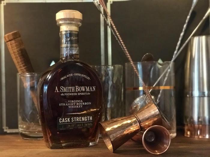 A. Bowman Smith Cask Strength Virginia Bourbon (image via Jason Marshall)