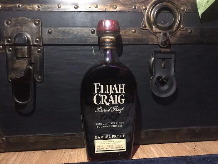 Elijah Craig Barrel Proof (image via Talia Gragg)