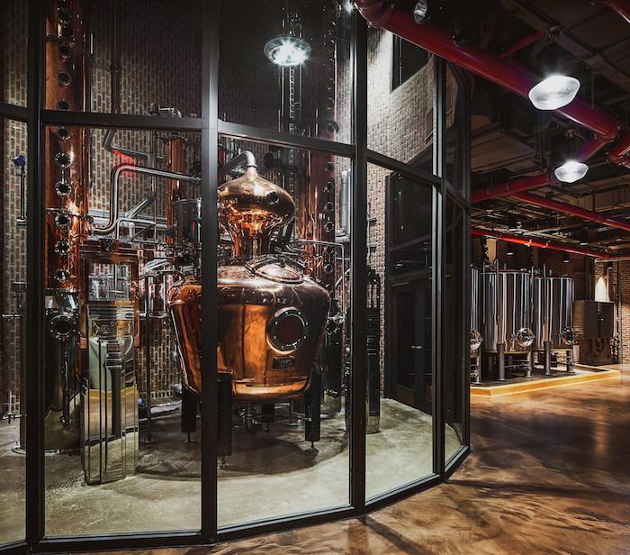 Great Jones Distillery Still