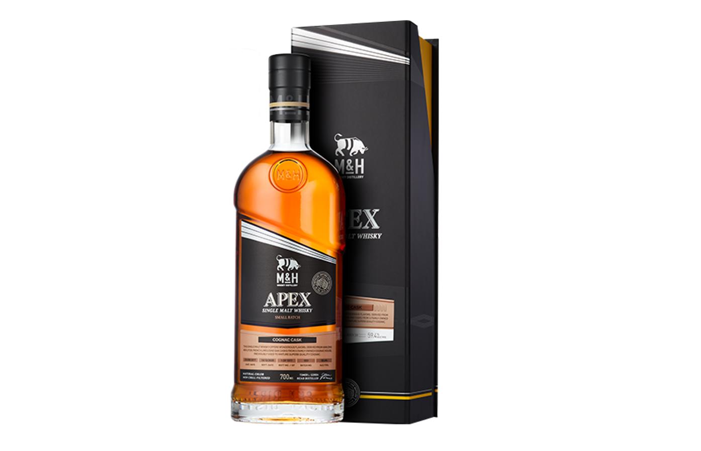 M&H Apex Cognac Cask (image via M&H Distillery)