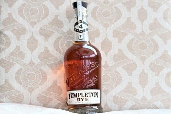Templeton Rye 4 Year (image via Debbie Nelson)