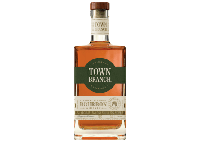 Town Branch Single Barrel Bourbon (image via Liquor Barn)