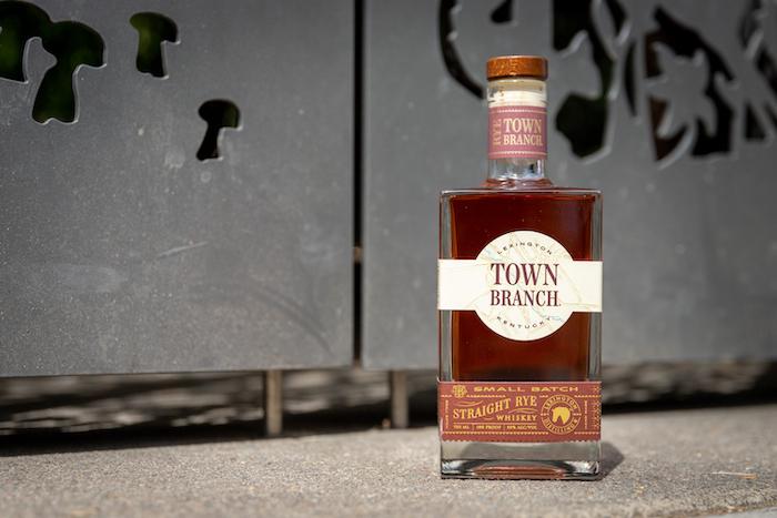 Town Branch Straight Rye Whiskey (image via Melissa Jones)