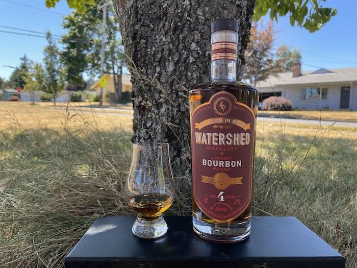 Watershed Bottled In Bond Bourbon (image via Jerry Jenae Sampson)