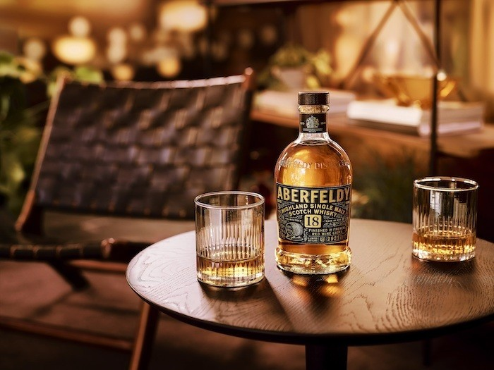 Aberfeldy 18 Years Old, French Red Wine Cask