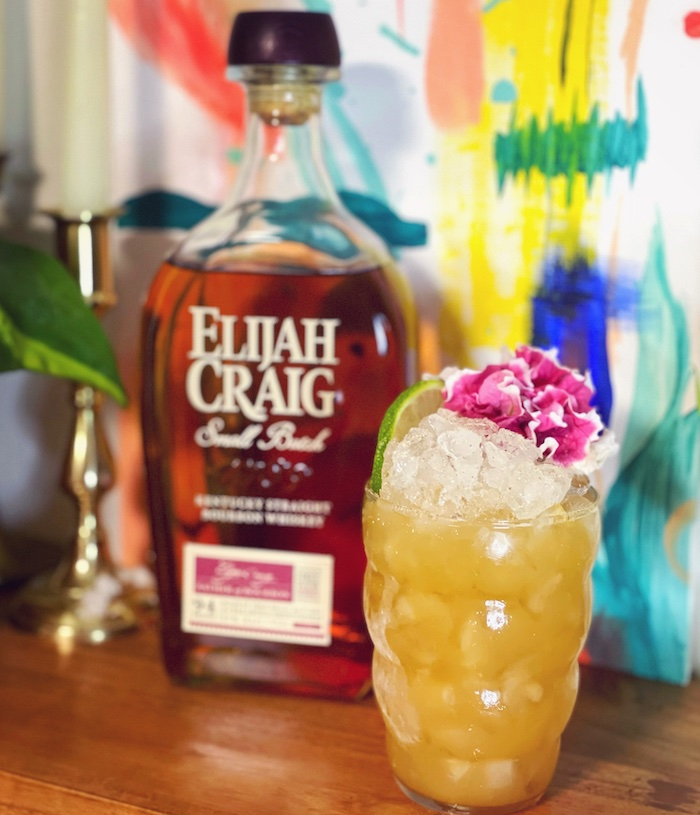 East Meets West Whiskey Sour