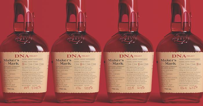 Maker's Mark Barrel Entry Proof Experiment