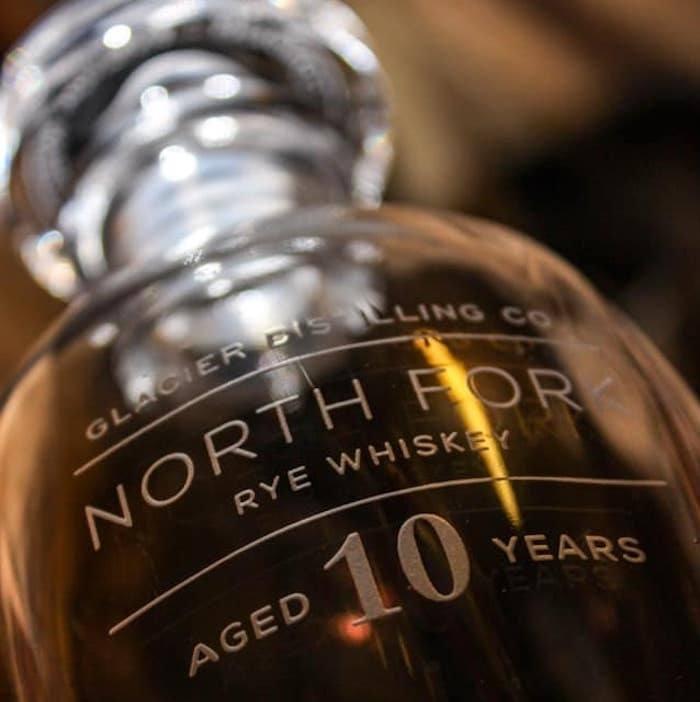 Glacier Distilling North Fork 10 Year Rye