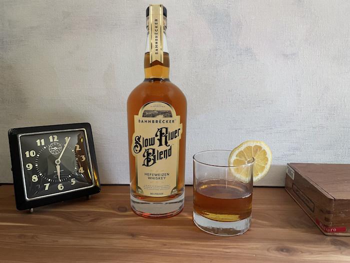 Bahnbrëcker Slow River Blend Hefeweizen Whiskey
