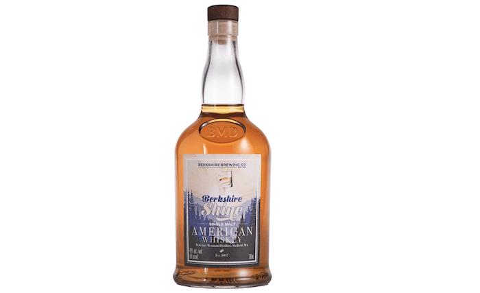 Berkshire Shine Single Malt American Whiskey (image via Berkshire Mountain Distillers)
