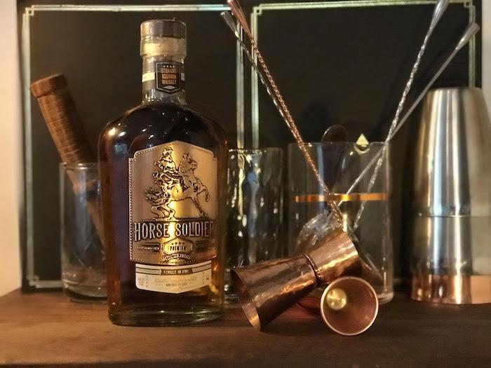 Horse Soldier Premium Straight Bourbon Whiskey (image via Jason Marshall)