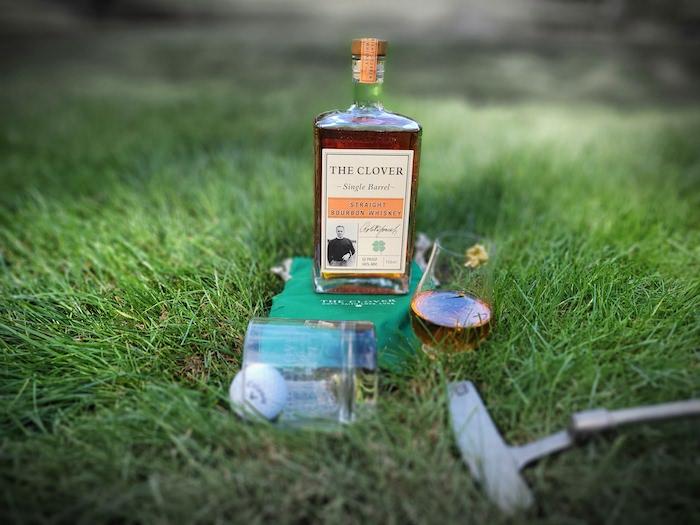The Clover Straight Bourbon Whiskey (image via Courtney Kristjana)