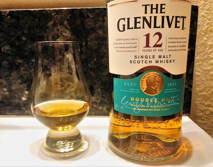 The Glenlivet 12 Year Old (image via Whisky Kirk)