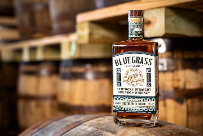 Bluegrass Distillers Kentucky Blue Corn Bottled-in-Bond Bourbon
