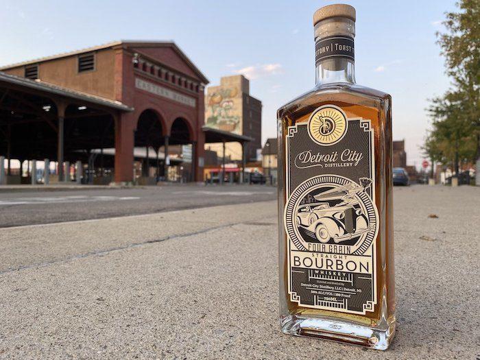 Detroit City Distillery Four Grain Bourbon