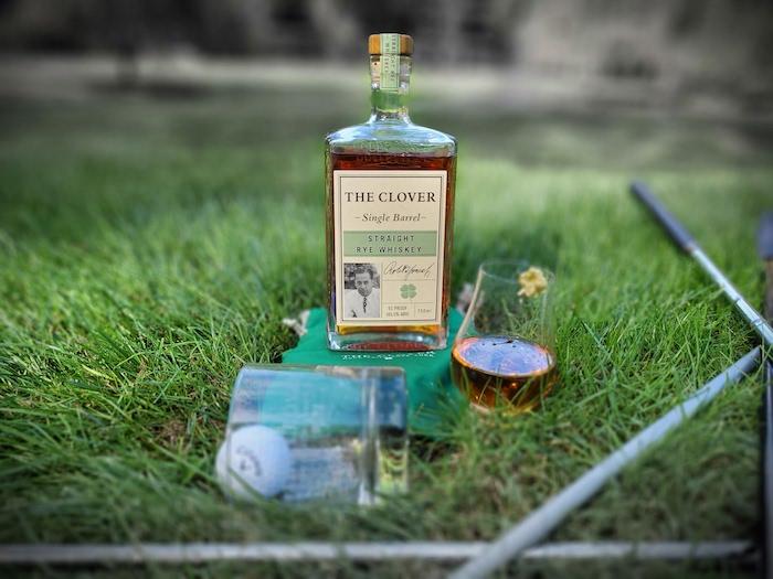 The Clover Single Barrel Straight Rye (image via Courtney Kristjana)
