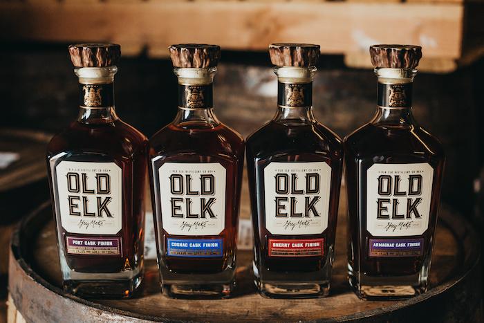 Old Elk Straight Bourbon cask finished line up
